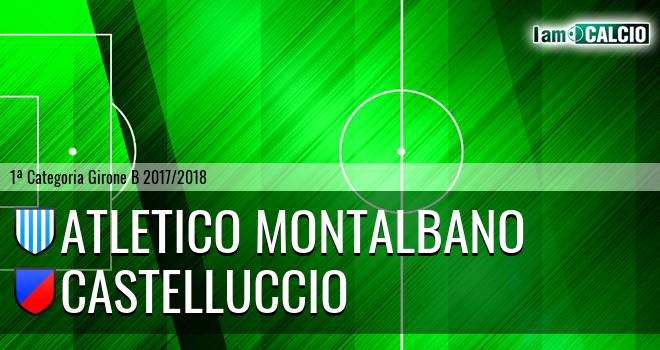 Atletico Montalbano - Castelluccio