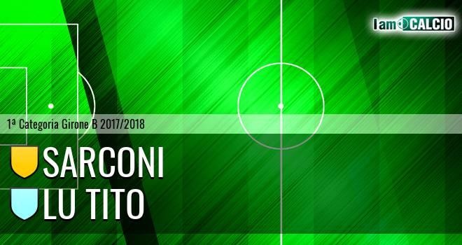 Sarconi - Lu Tito
