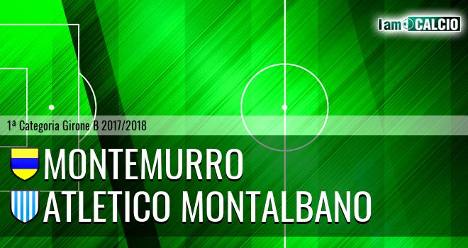 Montemurro - Atletico Montalbano
