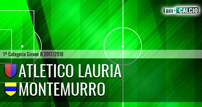 Atletico Lauria - Montemurro