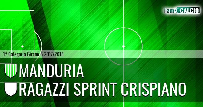 Manduria - Ragazzi Sprint Crispiano