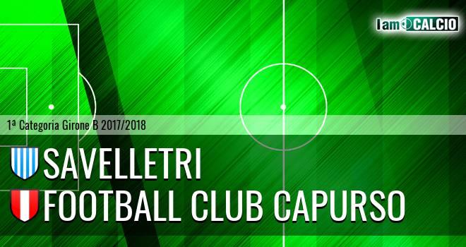 Savelletri - Football Club Capurso