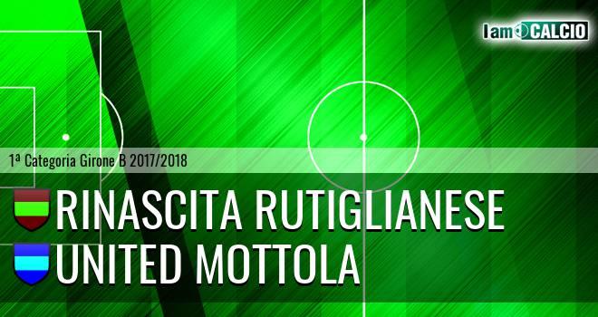 Rinascita Rutiglianese - United Mottola