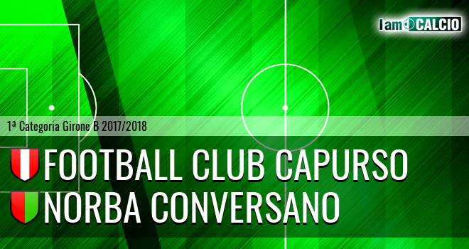Football Club Capurso - Norba Conversano