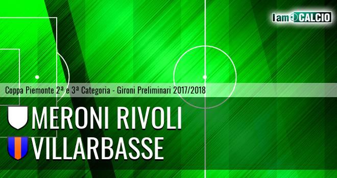 Meroni Rivoli - Villarbasse