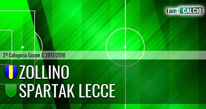 Zollino - Spartak Lecce