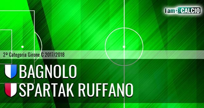 Bagnolo - Spartak Ruffano