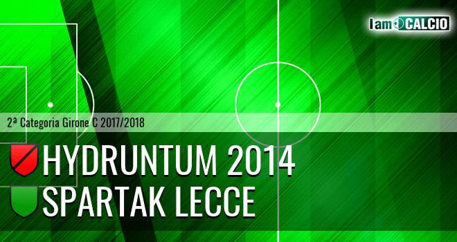 Hydruntum 2014 - Spartak Lecce