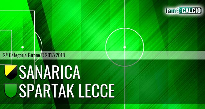 Sanarica - Spartak Lecce