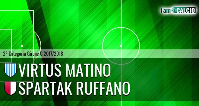 Virtus Matino - Spartak Ruffano