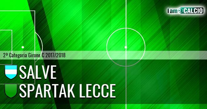 Salve - Spartak Lecce