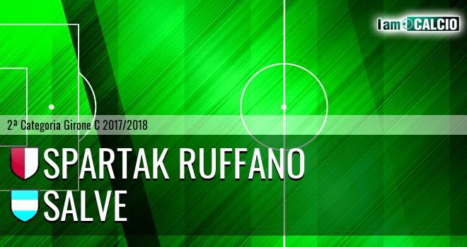 Spartak Ruffano - Salve