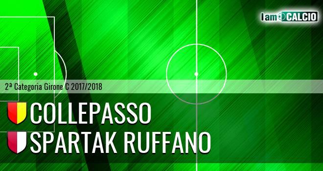 Collepasso - Spartak Ruffano