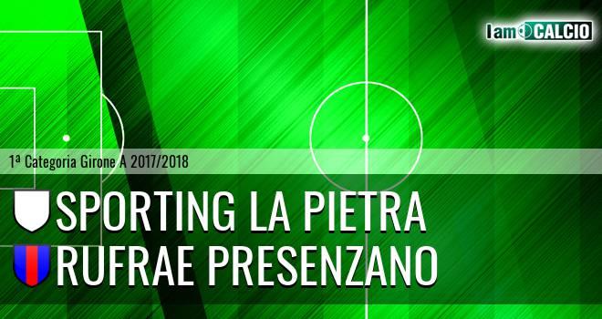 Sporting La Pietra - Rufrae Presenzano