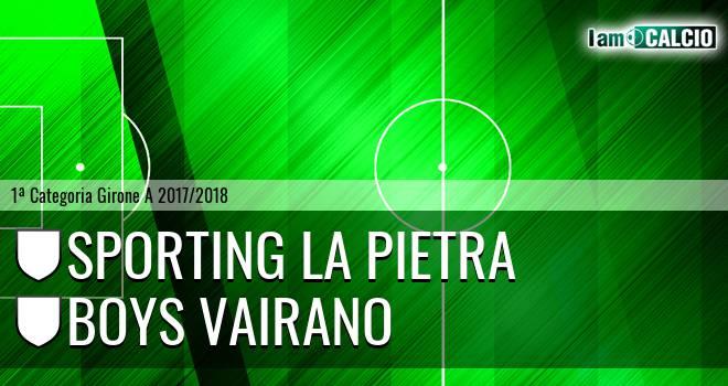Sporting La Pietra - Boys Vairano