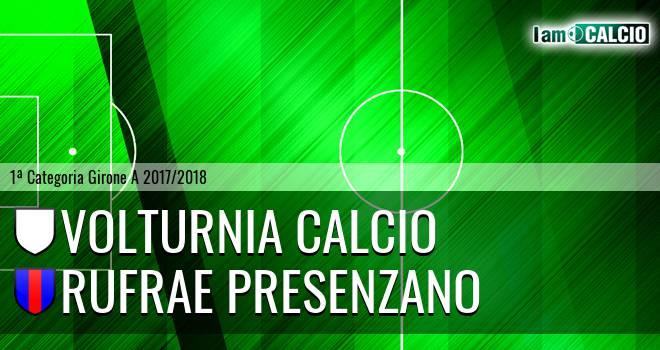 Volturnia Calcio - Rufrae Presenzano