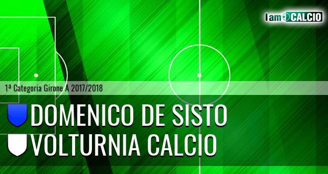 Domenico De Sisto - Volturnia Calcio