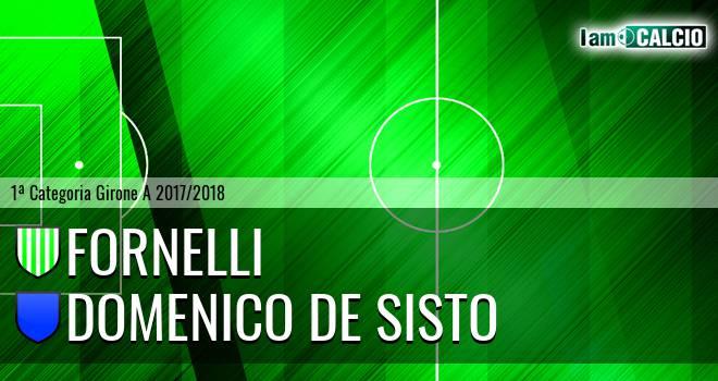 Fornelli - Domenico De Sisto