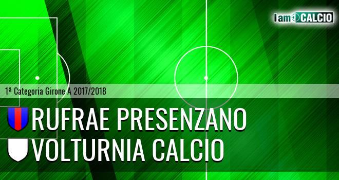 Rufrae Presenzano - Volturnia Calcio
