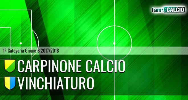 Carpinone Calcio - Vinchiaturo