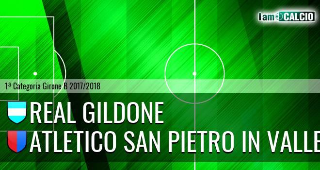 Real Gildone - Atletico San Pietro in Valle