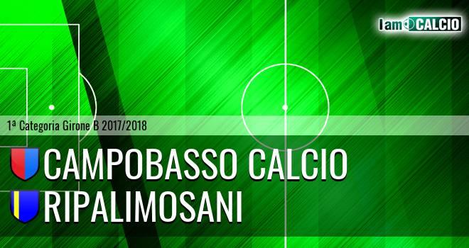 Campobasso Calcio - Ripalimosani 1963