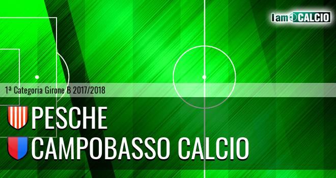 Pesche - Campobasso Calcio
