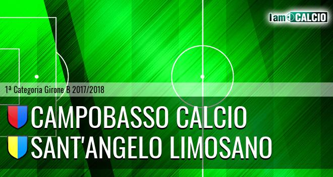 Campobasso Calcio - Sant'Angelo Limosano