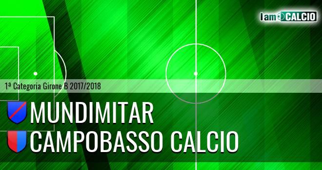 Mundimitar - Campobasso Calcio