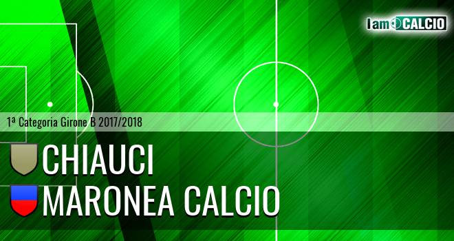 Chiauci - Maronea Calcio