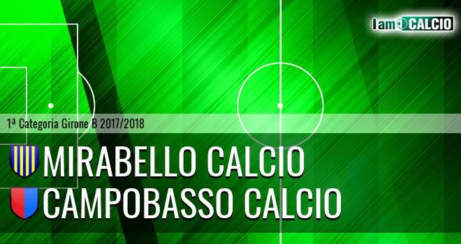 Mirabello Calcio - Campobasso Calcio