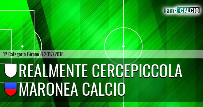 Realmente Cercepiccola - Maronea Calcio