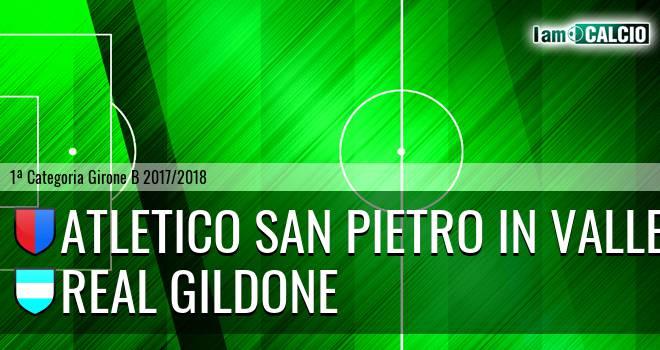 Atletico San Pietro in Valle - Real Gildone