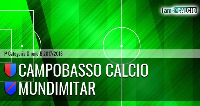Campobasso Calcio - Mundimitar