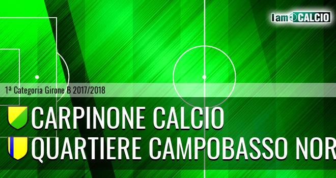 Carpinone Calcio - AM Juvenes