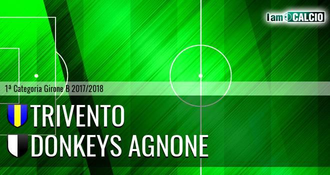 Trivento - Donkeys Agnone 1-2. Cronaca Diretta 20/05/2018