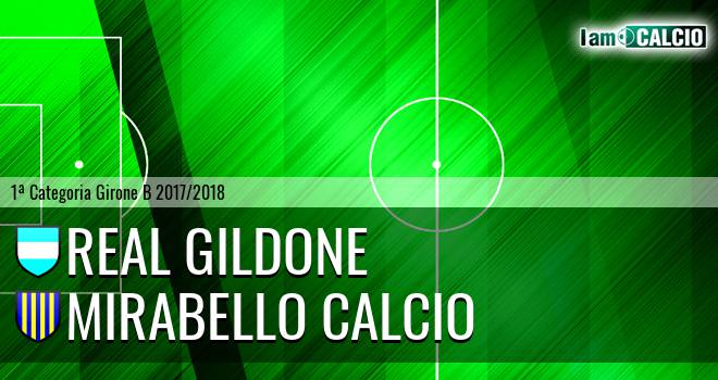 Real Gildone - Mirabello Calcio