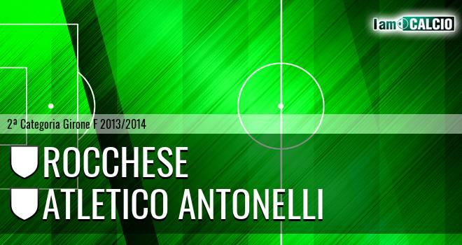 Rocchese - Atletico Antonelli