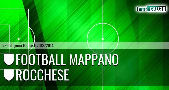 Football Mappano - Rocchese