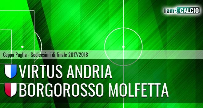 Virtus Andria - Borgorosso Molfetta