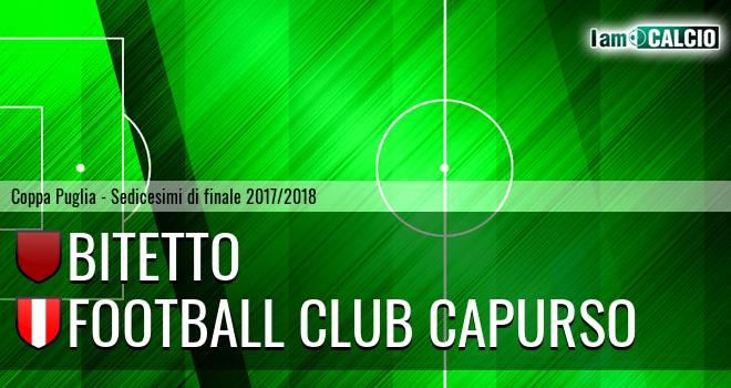 Bitetto - Football Club Capurso