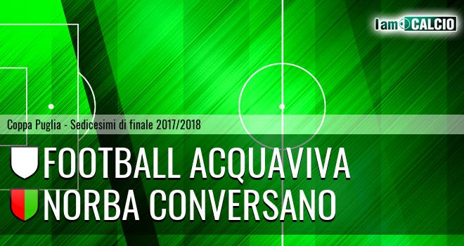 Football Acquaviva - Norba Conversano