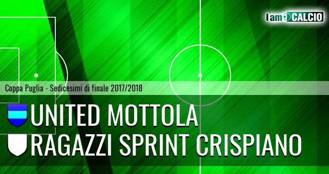 United Mottola - Ragazzi Sprint Crispiano