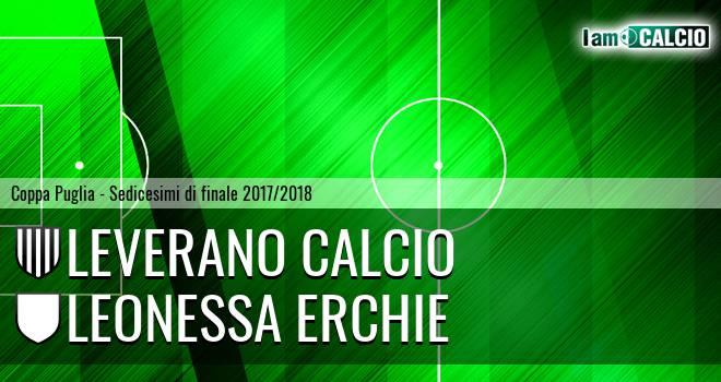 Leverano Calcio - Leonessa Erchie