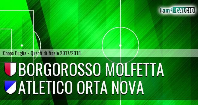 Borgorosso Molfetta - Atletico Orta Nova