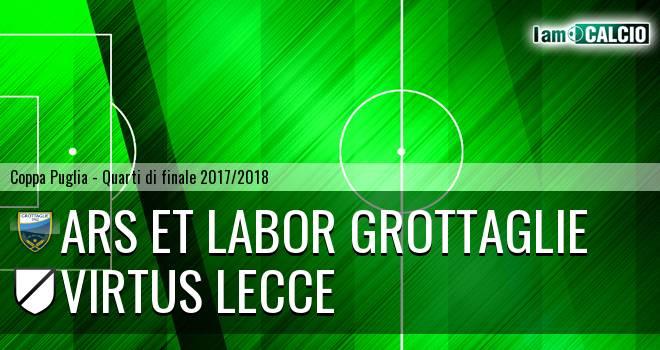 Ars et Labor Grottaglie - Virtus Lecce