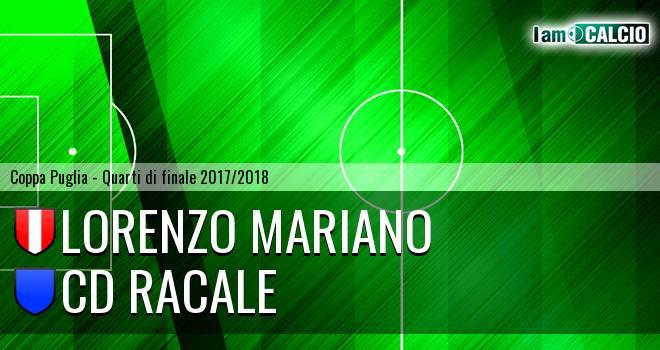 Lorenzo Mariano - CD Racale