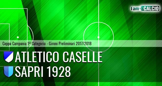 Atletico Caselle - Sapri 1928