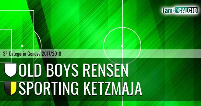 Old Boys Rensen - Sporting Ketzmaja