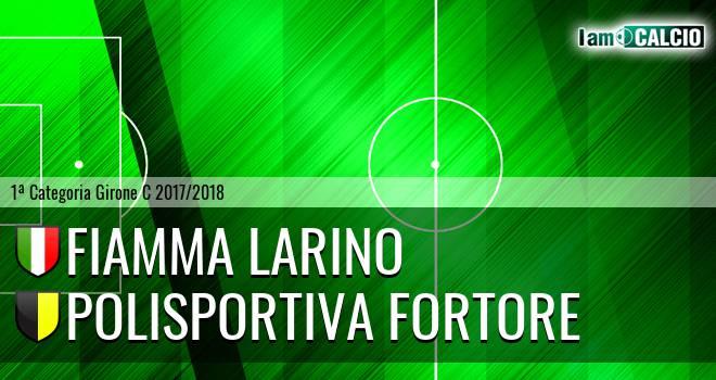 Fiamma Larino - Polisportiva Fortore